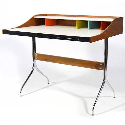 Light, Lithe, And Beautiful The Nelson Swag Leg Desk Is A Joy To Look At  And Sit At. This Desk Is From Herman Milleru0027s Recent Reissue.