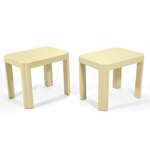 End Tables in the manner of Karl Springer