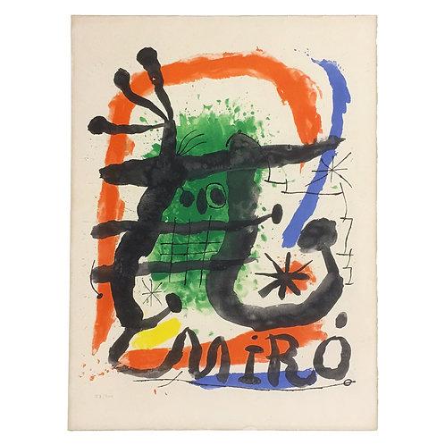 Miró Lithograph