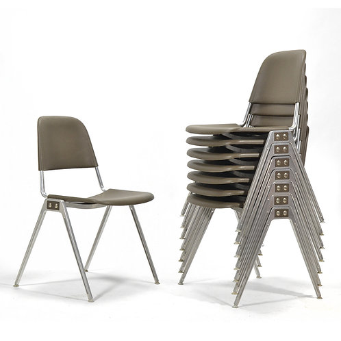 Don Albinson Stacking Chairs by Knoll