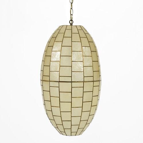 Capiz Shell Pendant Lamp