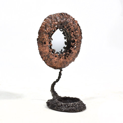 James Bearden Lunar Mirror Sculpture