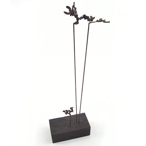 Harry Bouras Spill Cast Sculpture