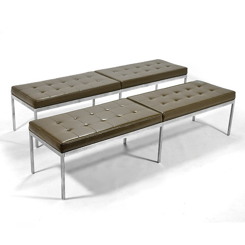 Florence Knoll Upholstered Benches