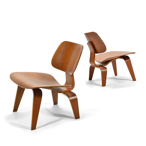 Eames Cherry LCWs by Herman Miller