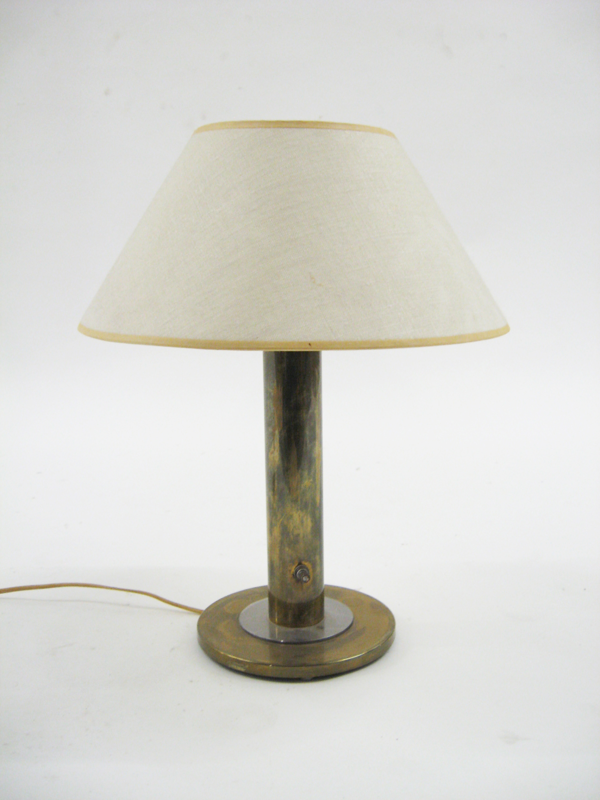 Nessen Brass Table Lamp