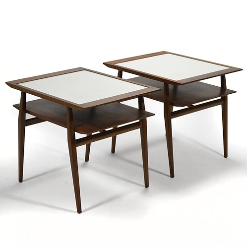Pair of Bertha Schaefer End Tables by Singer & Sons