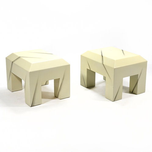 Post-Modern Side/ End Tables