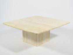 Travertine Coffee Table by Ello