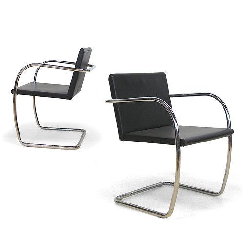Mies van der Rohe Thin Brno Chairs by Knoll