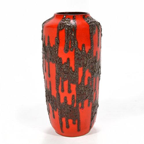"Oversize West German ""Fat Lava"" Vase"
