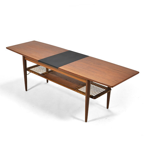 Danish Teak Extension Coffee Table