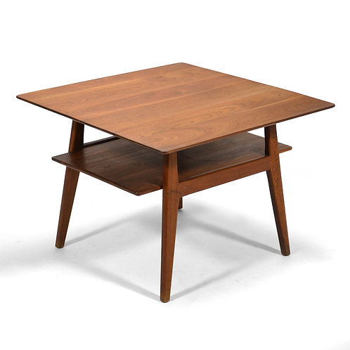 Jens Risom Walnut Side/ End Table