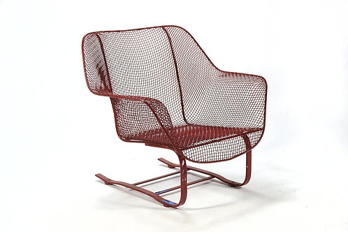 Woodard Sculptura Large Cantilevered Lounge Chair