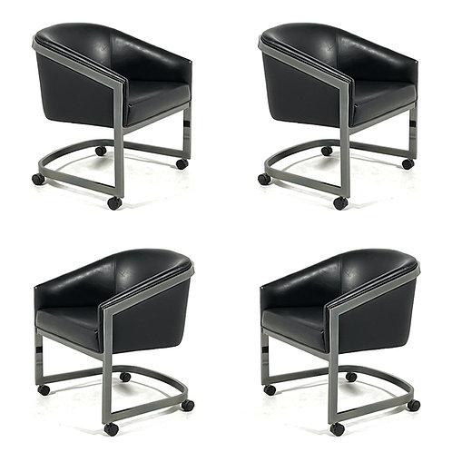 Set of 4 Design Institute of America Game Chairs