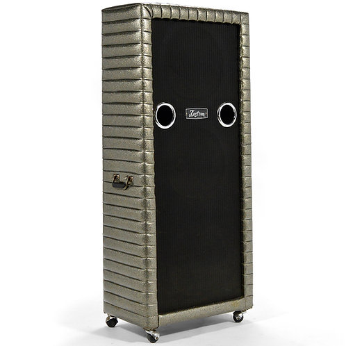 Kustom 3 X 15 Bass Cabinet Charcoal Sparkle Tuck & Roll
