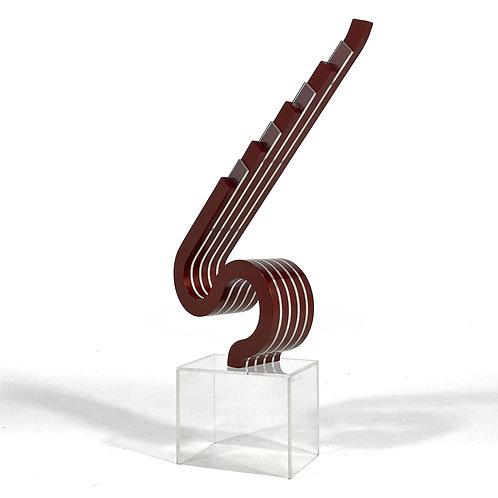 Norbert L. Witkowski Ribbon Sculpture