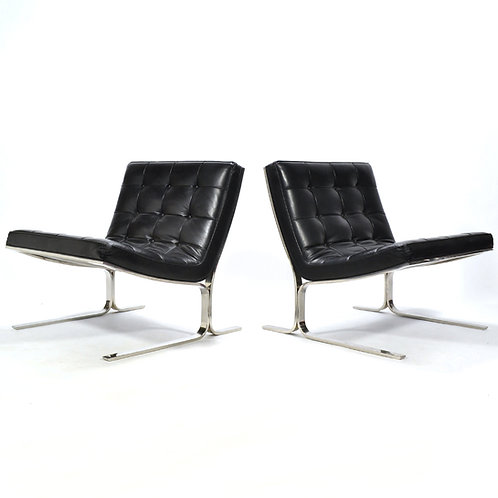 Nicos Zographos Pair of Lounge Chairs