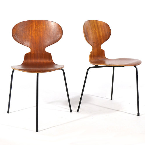 Pair of Arne Jacobsen Ant Chairs