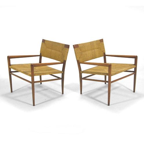 Pair of Mel Smilow Lounge Chairs