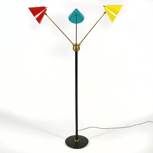 Stilnovo Three-Arm Floor Lamp