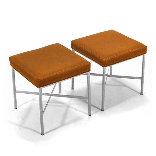 Pair of Shelby Williams Stools in the manner of Paul McCobb