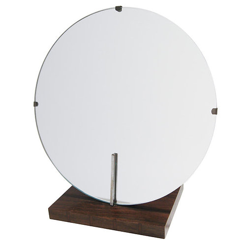 Gilbert Rohde Rosewood Mirror by Herman Miller
