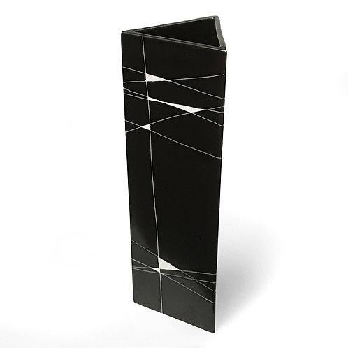 Triangular Vase by Gunvor Olin-Grönqvist