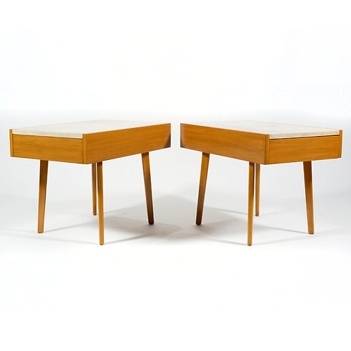 George Nelson End Tables/ Nightstands