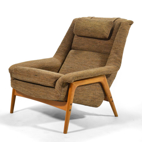Folke Ohlsson Lounge Chair By Dux