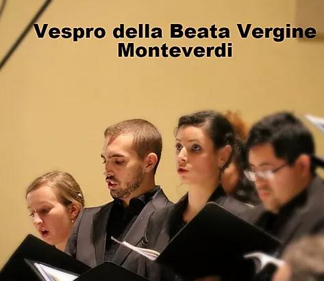 Vêpres de C. Monteverdi