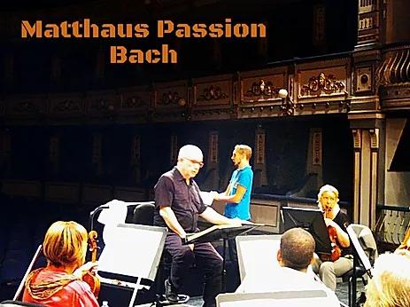 Passion selon St Mathieu, avec l'Orchestre Philarmonique de Malaga