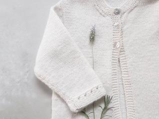 Kit White Flower Cardigan - Empório das Lãs