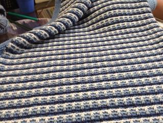 Slip Stitch Blanket