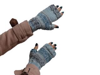 De mãos dadas com o tricô