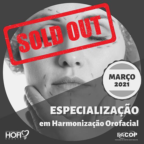 ESPECIALIZAÇÃO em Harmonização Orofacial - Início MAR/2021