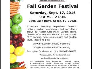 Event: Fall Garden Festival