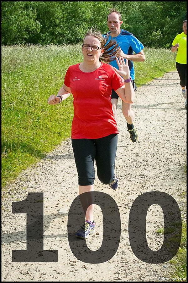 Louise Wall - 100 Runs