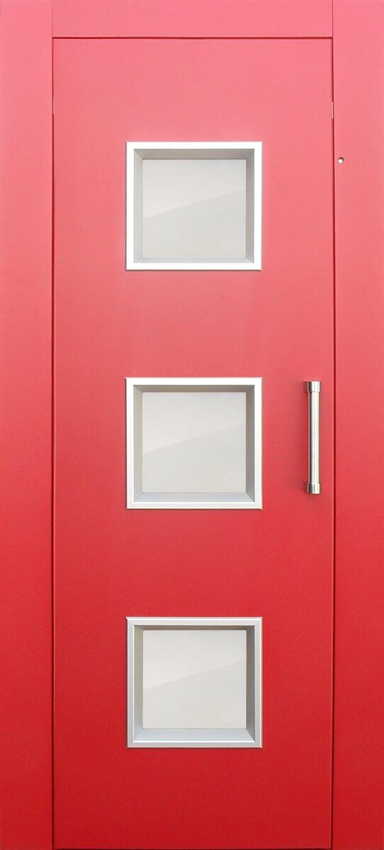 Porta panoramica con 3 finestre