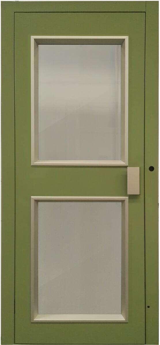 Porta Panoramica con due finestre