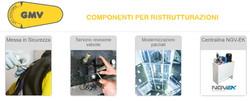 GMV - componenti per ristrutturazioni