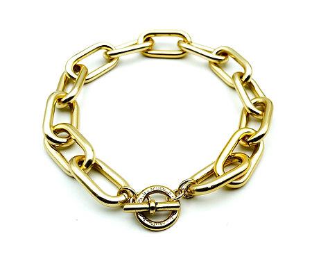 Catena Luxury Rettangolare Gold
