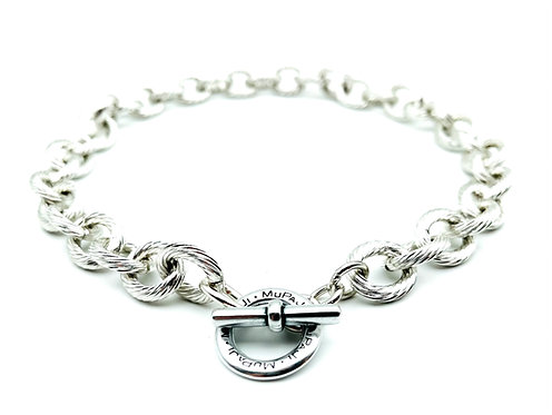 Collana Zigrinata Silver
