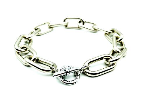 Catena Luxury Rettangolare Silver