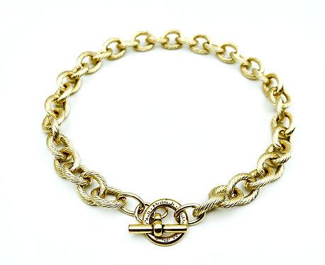 Collana Zigrinata Gold
