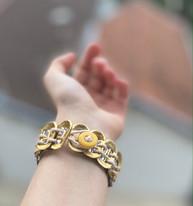 Bracelet corde beige