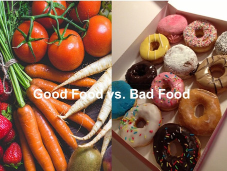 Why Should You Stop Labelling Food as Good or Bad?