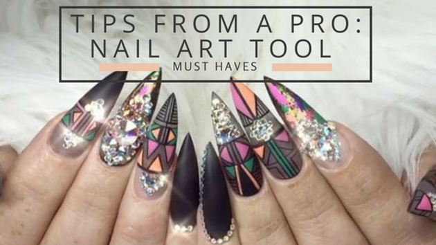 Tips from a pro nail art tool must haves beauty supply esthetic whether you prefer to outsource your nail art or love doing it yourself we have some must have tools to achieve that professional look solutioingenieria Choice Image