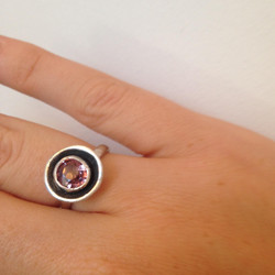 Spinel circle ring