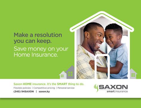 Saxon Insurance Product Campaign